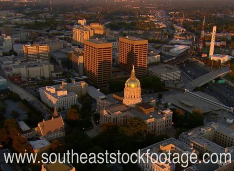 Aerials: Atlanta Gold Cap Dome