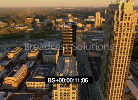 Aerials: Atlanta Midtown Sunset