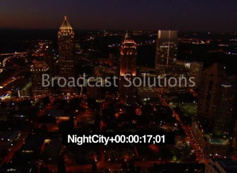 Aerials: Atlanta Northbound Night