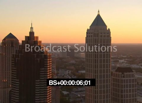 Aerials: Atlanta Sunset