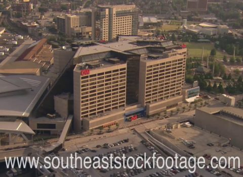 Aerials: CNN Phillips Arena Atlanta