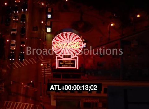 Aerials: Coca Cola Atlanta Night
