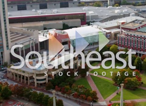 Aerials: College Football Hall of Fame