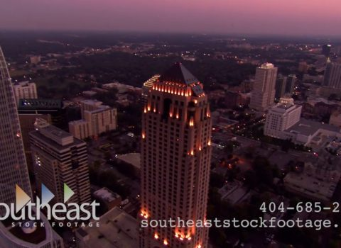 Aerials: Four Seasons Hotel Atlanta