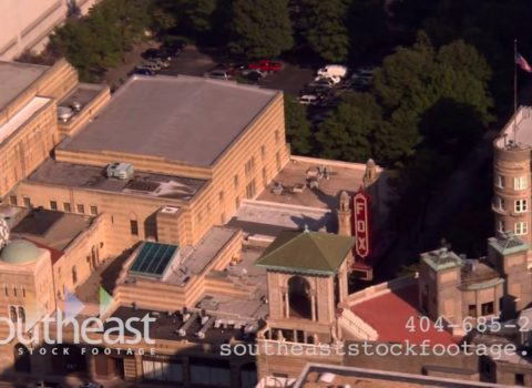 Aerials: Fox Theatre Atlanta
