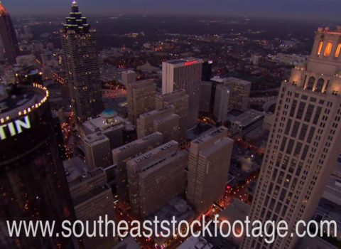 Aerials: Golden Hour Midtown Atlanta