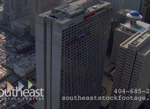 Aerials: Marriott Marquis