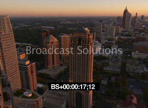 Aerials: Midtown Atlanta Skyline