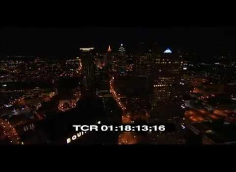 Aerials: Peachtree Atlanta Night