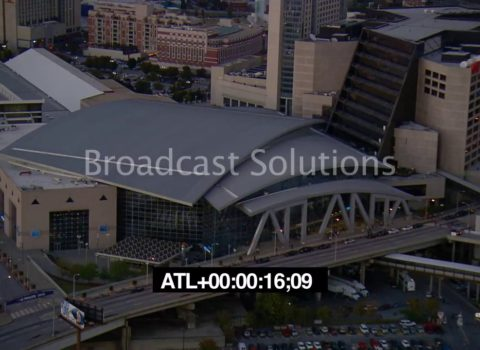 Aerials: Phillips Arena Atlanta