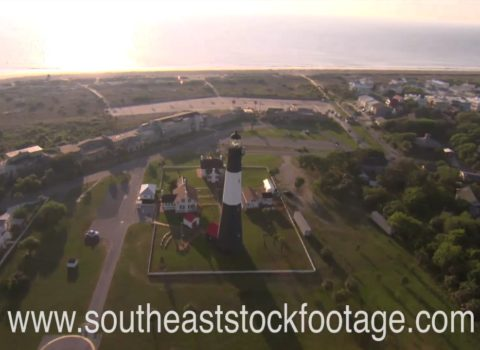Aerials: Tybee Island Lighthouse
