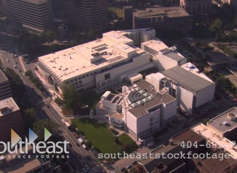Aerials: Woodruff Arts Center